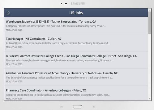 Accountancy Jobs apk screenshot