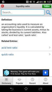 Accounting Dictionary - Lite apk screenshot