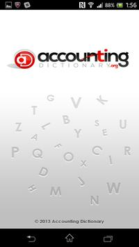 Accounting Dictionary - Lite poster