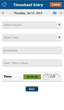 Time and Expense Tracker apk screenshot