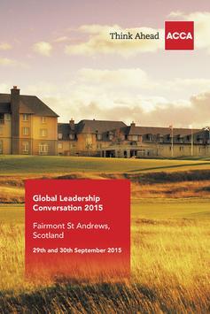 ACCA Global Leadership 2015 poster