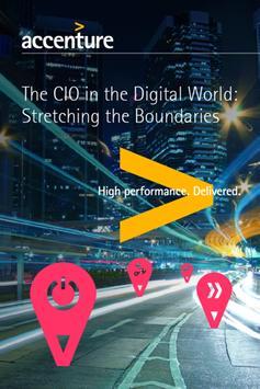 Accenture Global CIO Forum poster