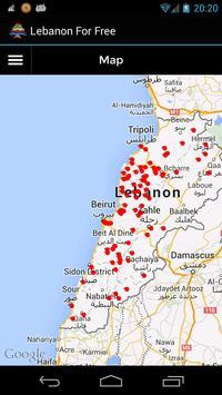 Lebanon For Free apk screenshot