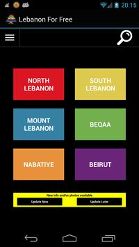 Lebanon For Free poster