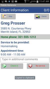 SERVtracker Mobile Home Care apk screenshot
