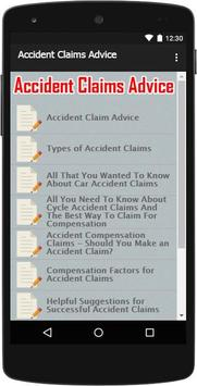 Accident Claims Advice apk screenshot