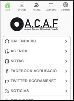 A.C.A.F. poster
