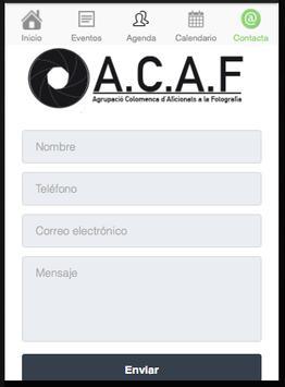 A.C.A.F. apk screenshot