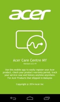 Acer Care Centre poster