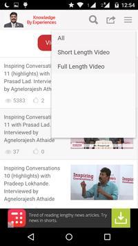 Knowledge By Exp: AgneloRajesh apk screenshot