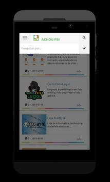 Achou Paracambi apk screenshot