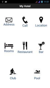 Hotel Presentation Reservation poster