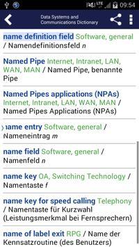 Data Systems DE-EN apk screenshot
