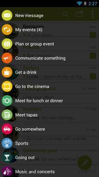 TWIN Free SMS apk screenshot