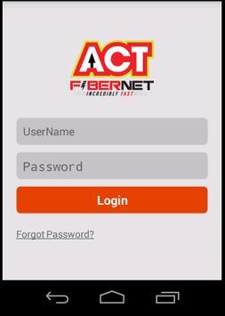 ACT SelfCare Beta 2.0 apk screenshot