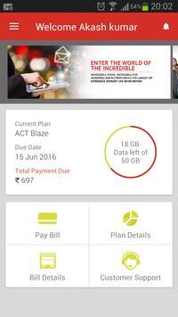 ACT Fibernet apk screenshot