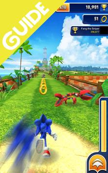 Guide for Sonic Dash poster