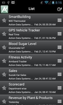 ActionCharts apk screenshot