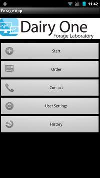 Dairy One Forage App apk screenshot