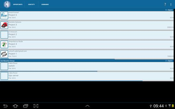 Business Manager CRM apk screenshot