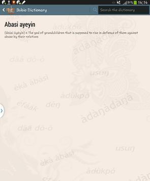 Ibibio Dictionary apk screenshot