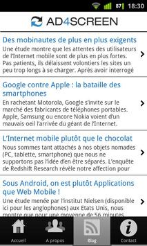Ad4Screen (mobile marketing) apk screenshot