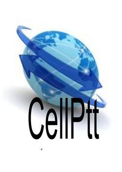 CellPtt one2one PTT poster