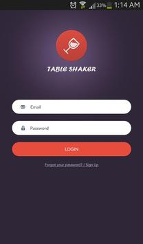Table Shaker apk screenshot