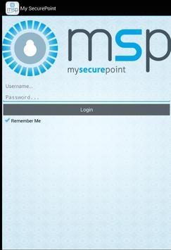 MySecurePoint apk screenshot