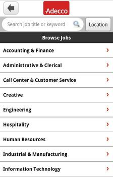 Adecco Jobs apk screenshot