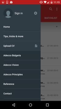 Adecco Jobs in Bulgaria apk screenshot