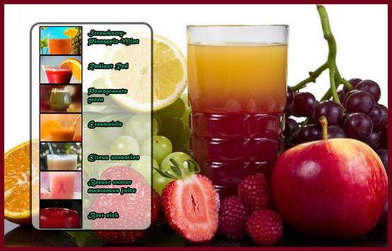 Juice recipes for health apk screenshot
