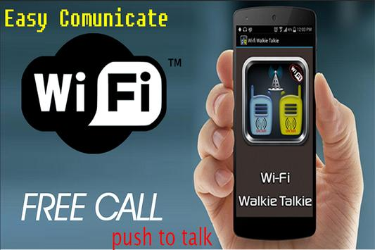 Wifi Walkie Talkie Pro poster
