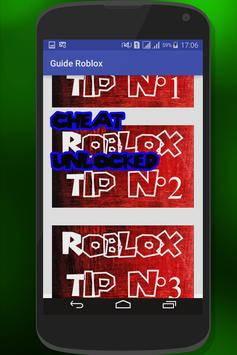 Free Robux Tips for Roblox apk screenshot