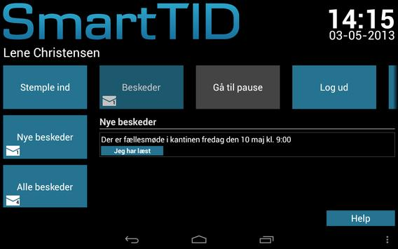 SmartTID Tablet poster
