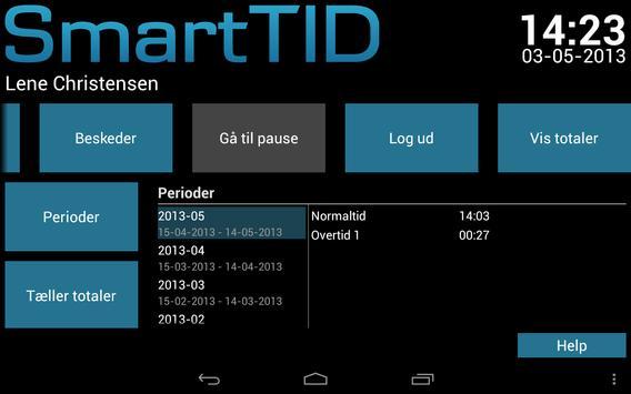 SmartTID Tablet apk screenshot
