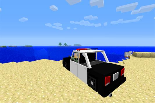 Cars Mods for Minecraft PE apk screenshot
