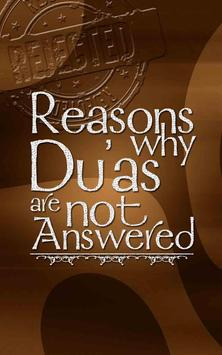 Reasons why Dua is unanswered apk screenshot