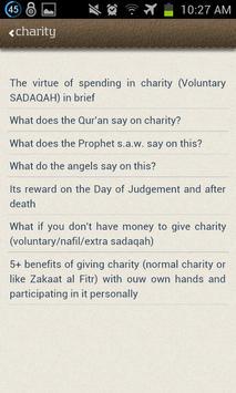 Virtues of Charity (Sadaqah) apk screenshot