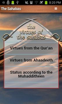 Sahabas (companions) - A to Z apk screenshot