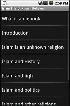 Islam, this unknown religion poster