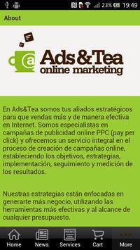 Ads & Tea apk screenshot