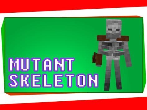 Mutant Mod for Minecraft apk screenshot