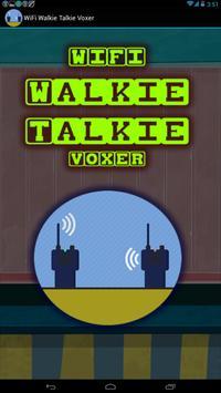 Wifi Walkie Talkie Voxer poster