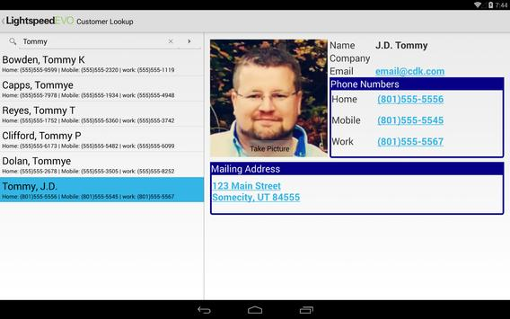 LightspeedEVO apk screenshot