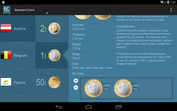 Euro Collector apk screenshot