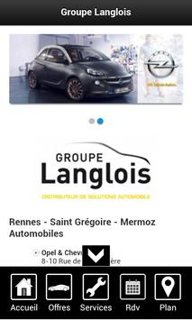 Groupe Langlois poster