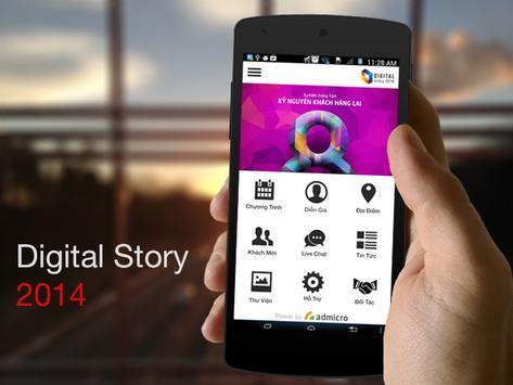 Digital Story 2014 poster