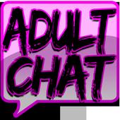 Adult Chat ♥ Flirt Free icon