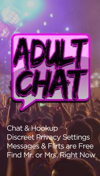 Adult Chat ♥ Flirt Free poster